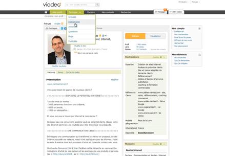 Construisez votre réseau avec Viadeo